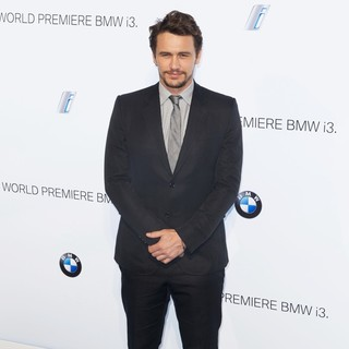 James Franco in BMW i3 Global Reveal Party - Arrivals