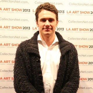 James Franco in LA Art Show 2013 Opening Night Premiere Party
