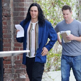 On The Set of The Disaster Artist