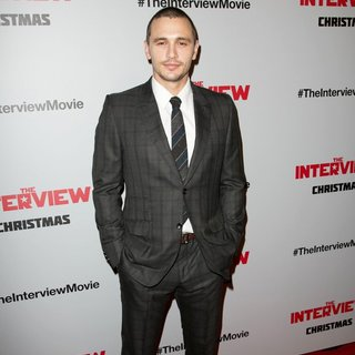 James Franco in Los Angeles Premiere of The Interview - Red Carpet Arrivals