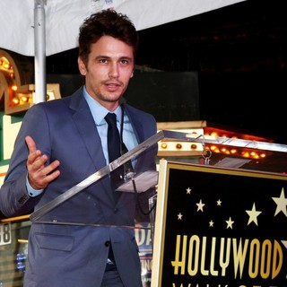 James Franco in James Franco Is Honoured with A Hollywood Star on The Hollywood Walk of Fame