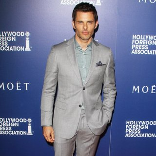 James Marsden in The Hollywood Foreign Press Association's Grants Banquet