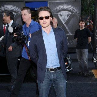 James McAvoy in The New York Premiere of 'X-Men: First Class'