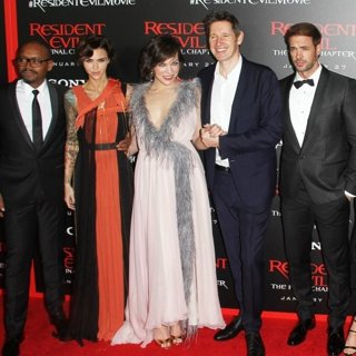 Premiere of Sony Pictures Releasing's Resident Evil: The Final Chapter