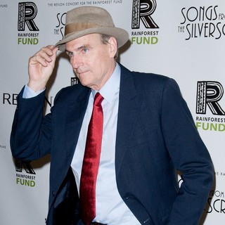 James Taylor in The 2012 Concert for The Rainforest Fund Afterparty - Arrivals