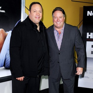 Kevin James, Gary Valentine in Here Comes the Boom New York Premiere