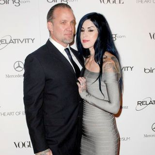 Jesse James, Kat Von D in Art Of Elysium's 4th Annual Heaven Charity Gala - Arrivals