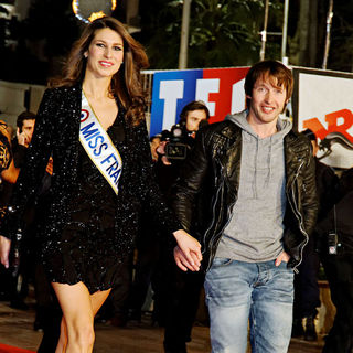 Laury Thilleman, James Blunt in NRJ Music Awards 2011 Ceremony - Arrivals