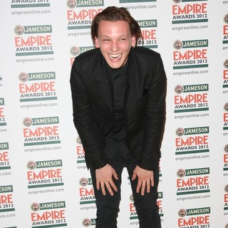 Jamie Campbell Bower in The Empire Film Awards 2012 - Press Room