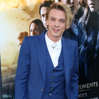 Jamie Campbell Bower in Premiere of Screen Gems and Constantin Films' The Mortal Instruments: City of Bones