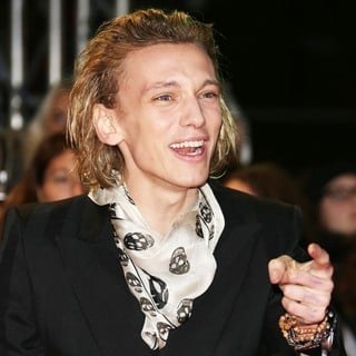 Jamie Campbell Bower in The Premiere of The Twilight Saga's Breaking Dawn Part II - Arrivals