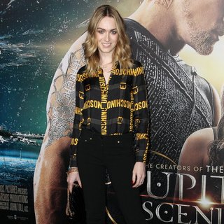 Jamie Clayton in Los Angeles Premiere of Jupiter Ascending - Arrivals