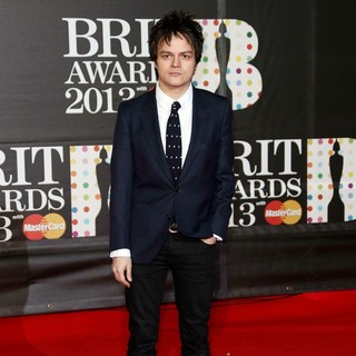 Jamie Cullum in The 2013 Brit Awards - Arrivals - jamie-cullum-2013-brit-awards-03