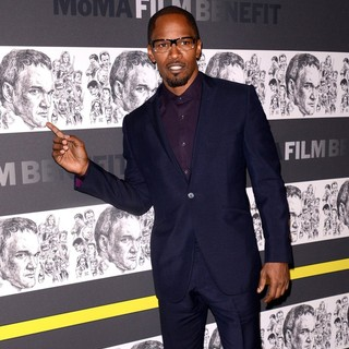 Jamie Foxx in The Museum of Modern Art 5th Annual Film Benefit Honoring Quentin Tarantino - Arrivals