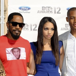 Jamie Foxx in The BET Awards 2012 - Arrivals