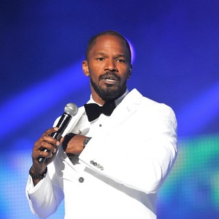 Jamie Foxx in Michael Jackson Tribute Concert Held at The Cardiff Millenium Stadium