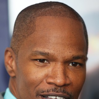 Jamie Foxx in New York Premiere of White House Down