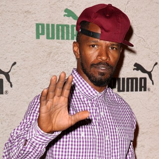 Jamie Foxx in PUMA Presents Riddim and Run Benefiting Soles4Souls - Arrivals