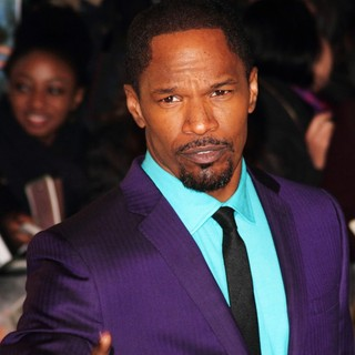 Jamie Foxx in The UK Premiere of Django Unchained - Arrivals