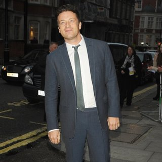 Jamie Oliver in The 2014 Pride of Britain Awards - Arrivals