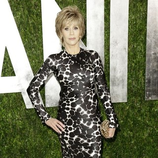 Jane Fonda in 2013 Vanity Fair Oscar Party - Arrivals