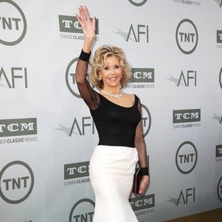 Jane Fonda in 2014 AFI Life Achievement Award Gala Tribute