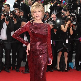 Jane Fonda in Madagascar 3: Europe's Most Wanted Premiere- During The 65th Cannes Film Festival