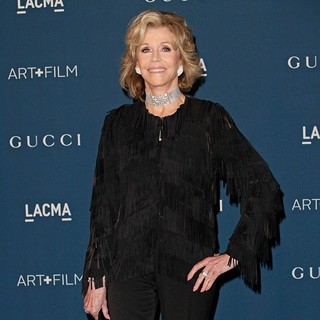 Jane Fonda in LACMA 2013 Art and Film Gala Honoring Martin Scorsese and David Hockney Presented by Gucci