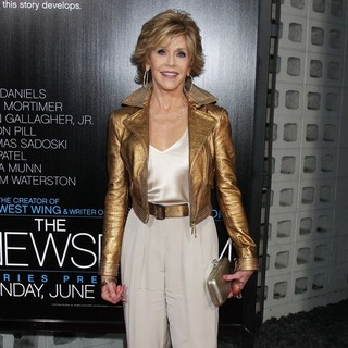 Jane Fonda in HBO's The Newsroom Los Angeles Premiere