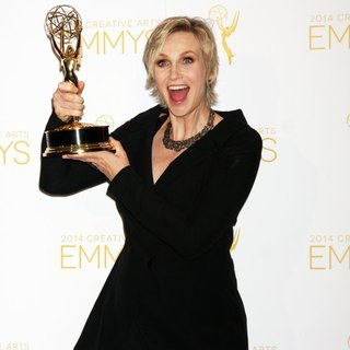 Jane Lynch in 2014 Creative Arts Emmy Awards - Press Room