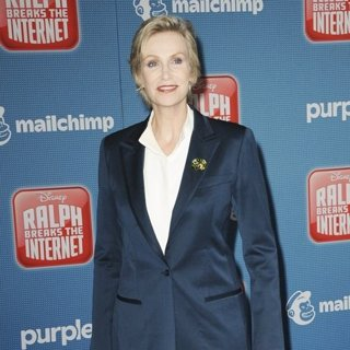 Jane Lynch in Ralph Breaks the Internet Premiere