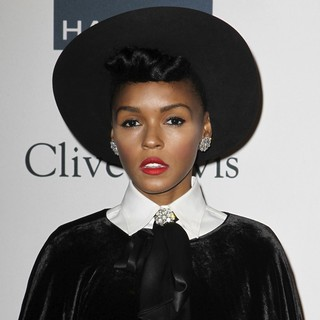 Janelle Monae in Clive Davis and The Recording Academy's 2013 Pre-Grammy Gala and Salute to Industry Icons