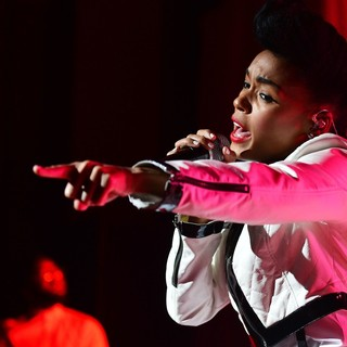 Janelle Monae in Janelle Monae Performs in The Electric Tour Concert