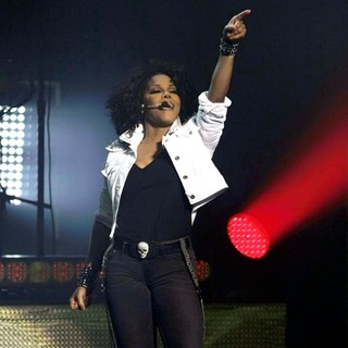 Janet Jackson Performing Live in Concert at Sydney Opera House