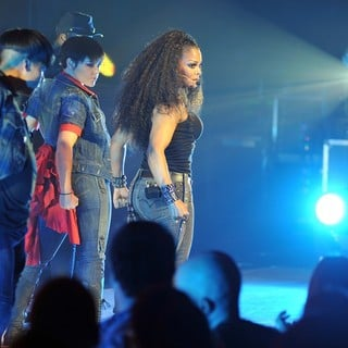 Janet Jackson in Janet Jackson Performs at The Grand Canal Theatre