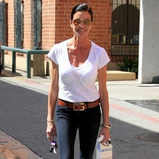 Janice Dickinson Seen Out and About in Beverly Hills