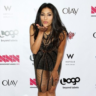 Janina Gavankar in LOGO's 2012 NewNowNext Awards