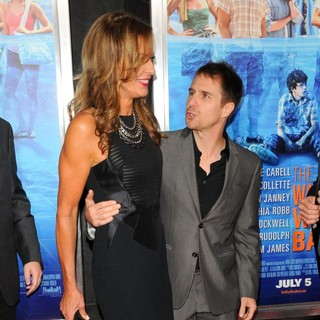 Allison Janney, Sam Rockwell in New York Premiere of The Way, Way Back - Arrivals