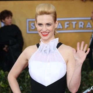 January Jones in 19th Annual Screen Actors Guild Awards - Arrivals