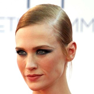 January Jones in 64th Annual Primetime Emmy Awards - Arrivals