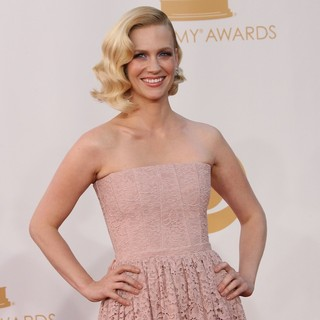 January Jones in 65th Annual Primetime Emmy Awards - Arrivals