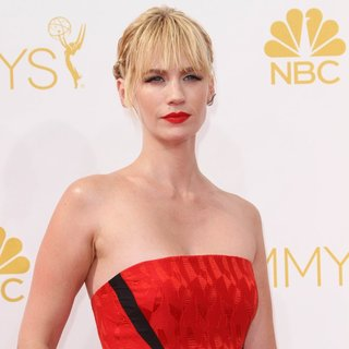 January Jones in 66th Primetime Emmy Awards - Arrivals