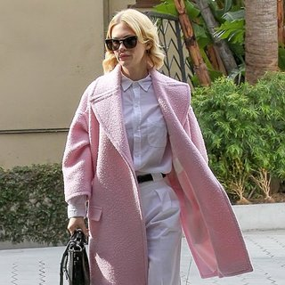 January Jones in January Jones Arrives at Sunset Tower Hotel for Lunch