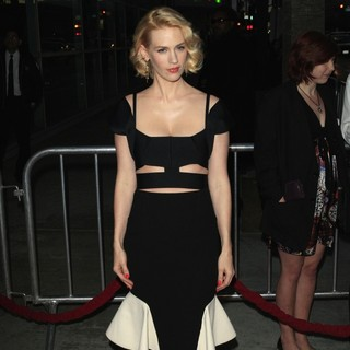 January Jones in AMC's Special Screening of Mad Men Season 5 - Arrivals