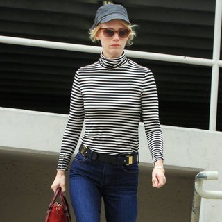 January Jones in January Jones Running Errands
