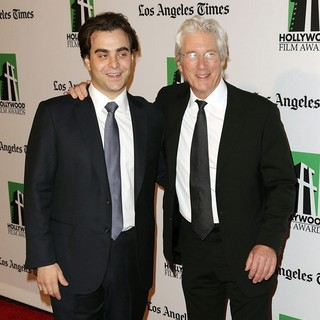 Nicholas Jarecki, Richard Gere in 16th Annual Hollywood Film Awards Gala