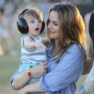 Bear Blu Jarecki, Alicia Silverstone in Celebrities at The 2012 Coachella Valley Music and Arts Festival - Week 2 Day 2