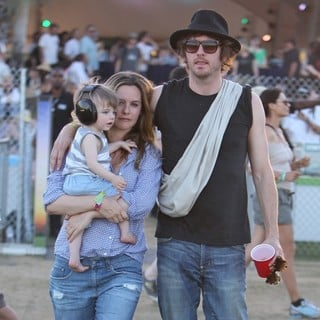 Bear Blu Jarecki, Alicia Silverstone, Christopher Jarecki in Celebrities at The 2012 Coachella Valley Music and Arts Festival - Week 2 Day 2