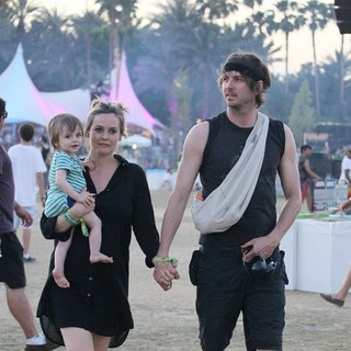 Bear Blu Jarecki, Alicia Silverstone, Christopher Jarecki in Celebrities at The 2012 Coachella Valley Music and Arts Festival - Week 2 Day 3