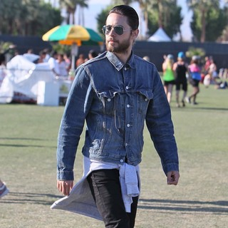 Jared Leto, 30 Seconds to Mars in Celebrities at The 2012 Coachella Valley Music and Arts Festival - Day 2